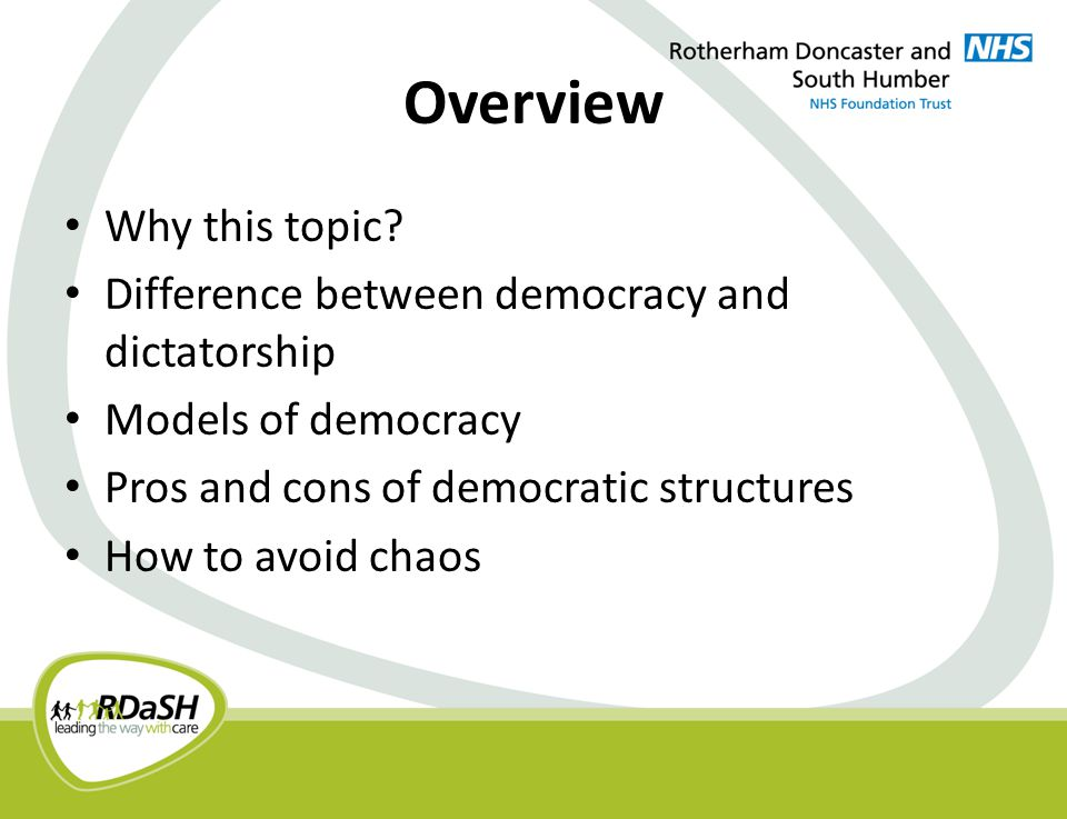 Overview Why this topic.