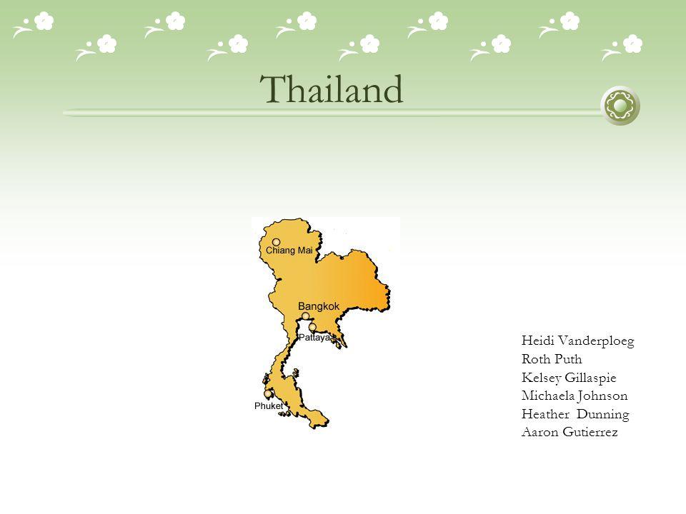 Thailand Heidi Vanderploeg Roth Puth Kelsey Gillaspie Michaela Johnson Heather Dunning Aaron Gutierrez