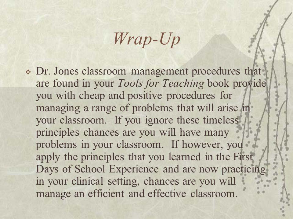 Wrap-Up  Dr.