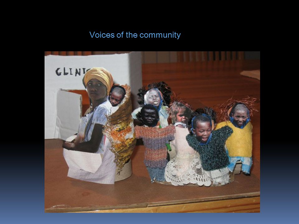 Voices of the community