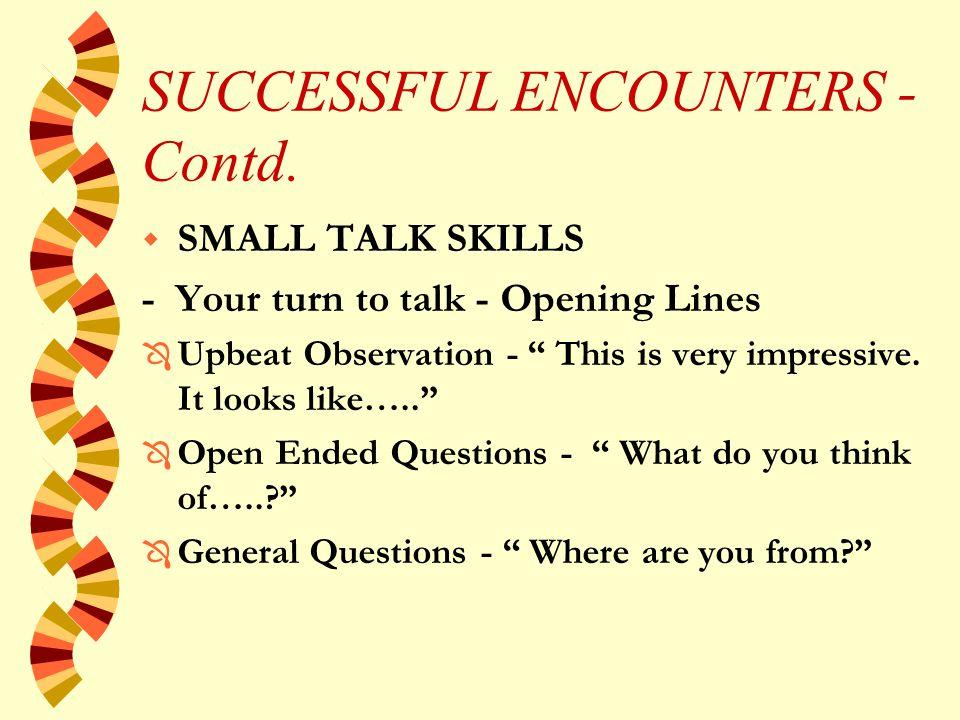 SUCCESSFUL ENCOUNTERS - Contd.