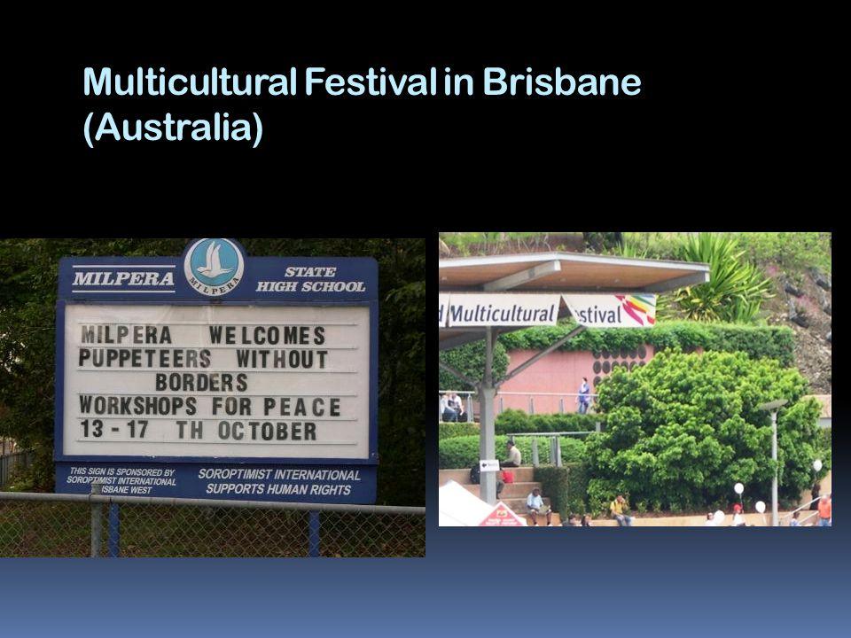 Multicultural Festival in Brisbane (Australia)