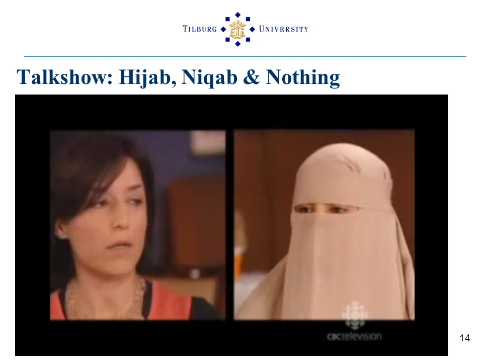 Talkshow: Hijab, Niqab & Nothing 14