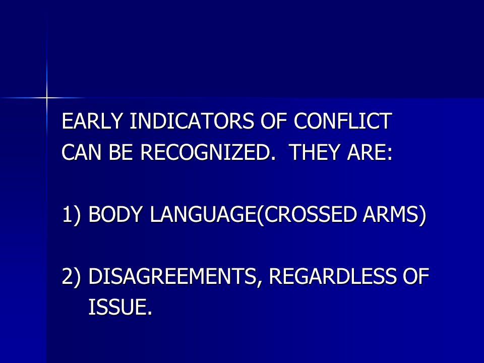 CONFLICTS IN MEETINGS CONFLICTS IN MEETINGS CAN BE VERY DISRUPTIVE.