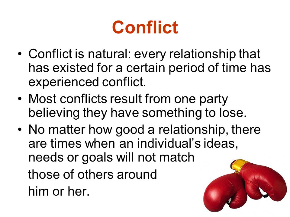 Do you see each workplace conflict as an opportunity to win .