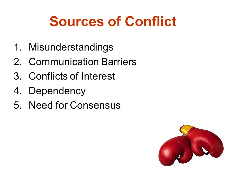 What is your conflict style? Avoider Accommodator Competitor Compromiser Collaborator