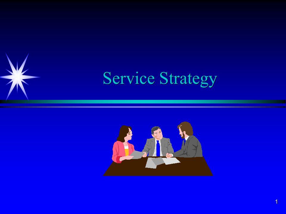 1 Service Strategy