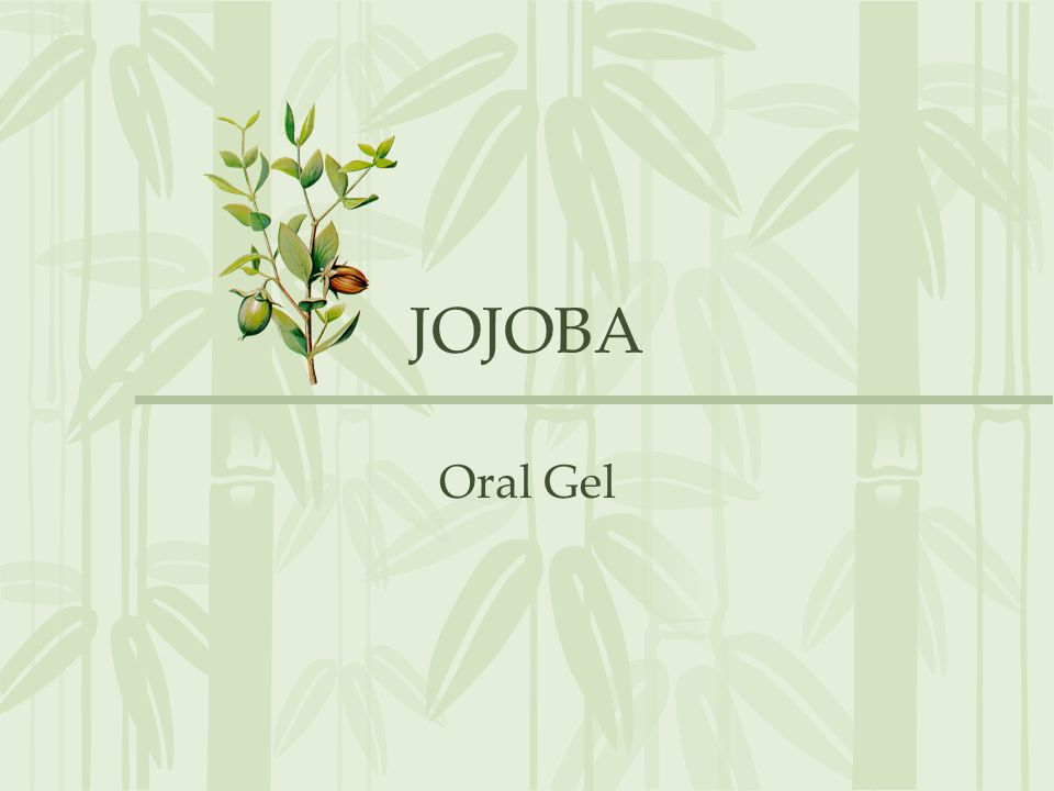 JOJOBA Oral Gel