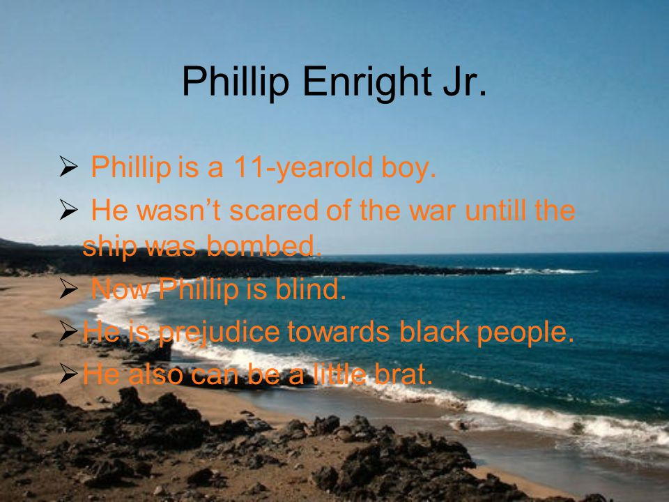Phillip Enright Jr.  Phillip is a 11-yearold boy.
