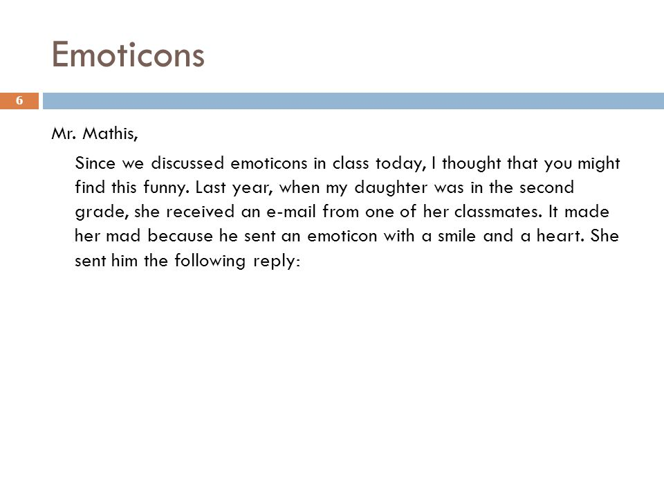 Emoticons Mr.