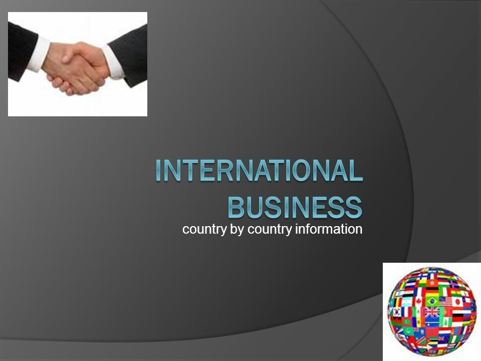 country by country information