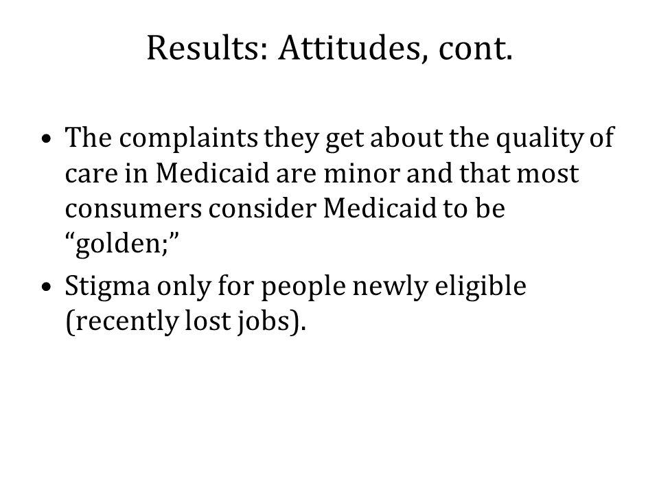 Results: Attitudes, cont.