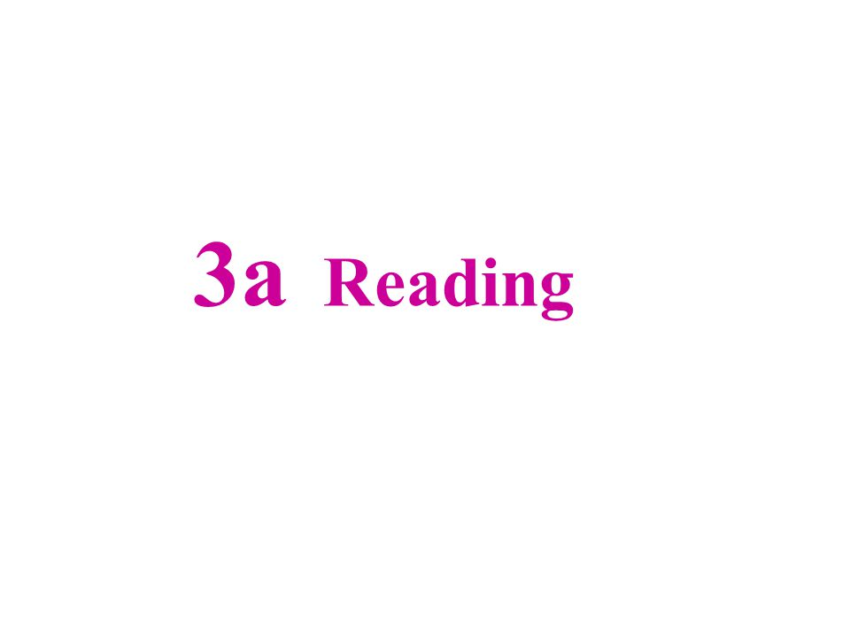 3a Reading
