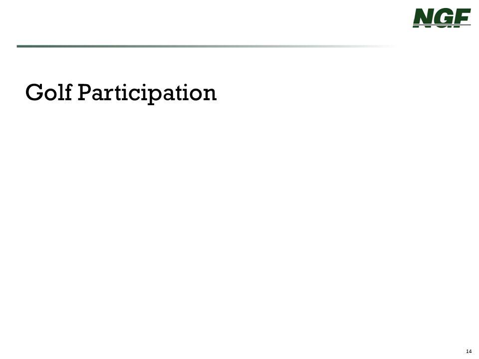 14 Golf Participation