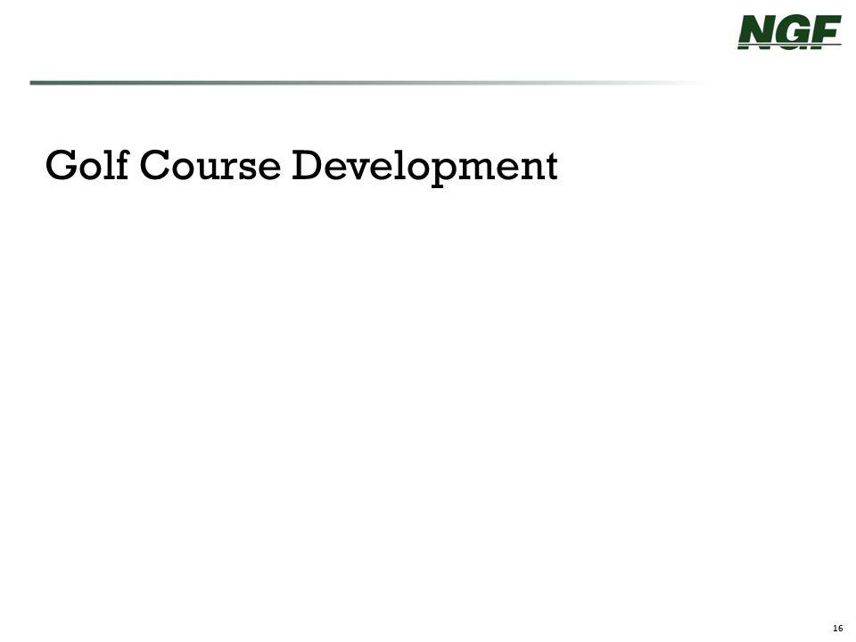 16 Golf Course Development