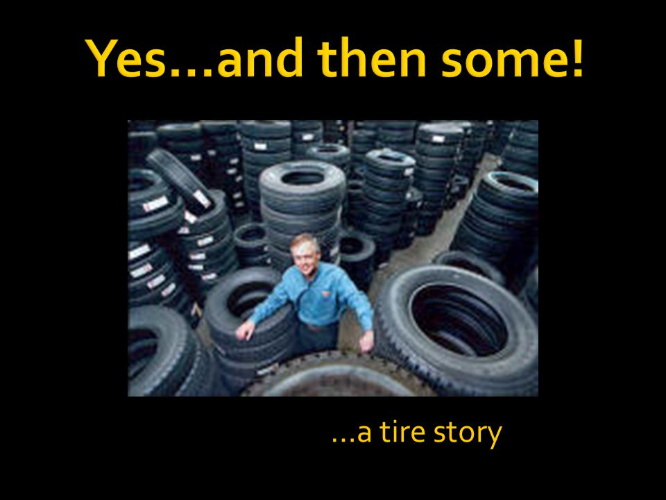 …a tire story