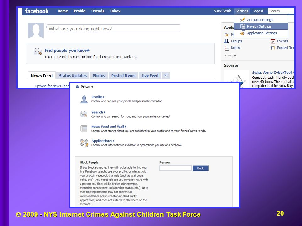  2009 - NYS Internet Crimes Against Children Task Force 20