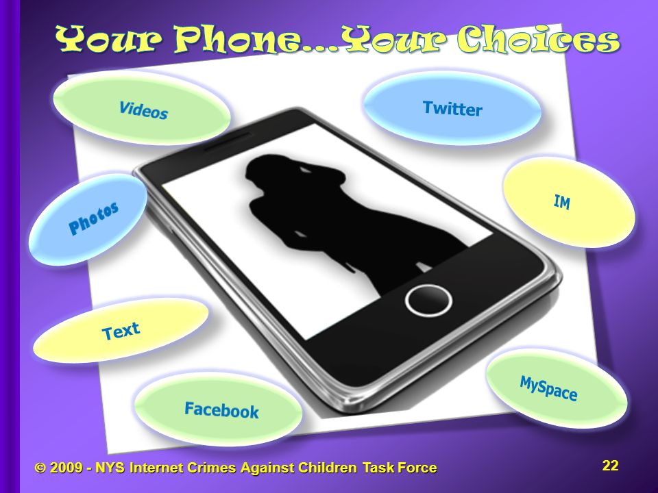  2009 - NYS Internet Crimes Against Children Task Force Text Twitter 22