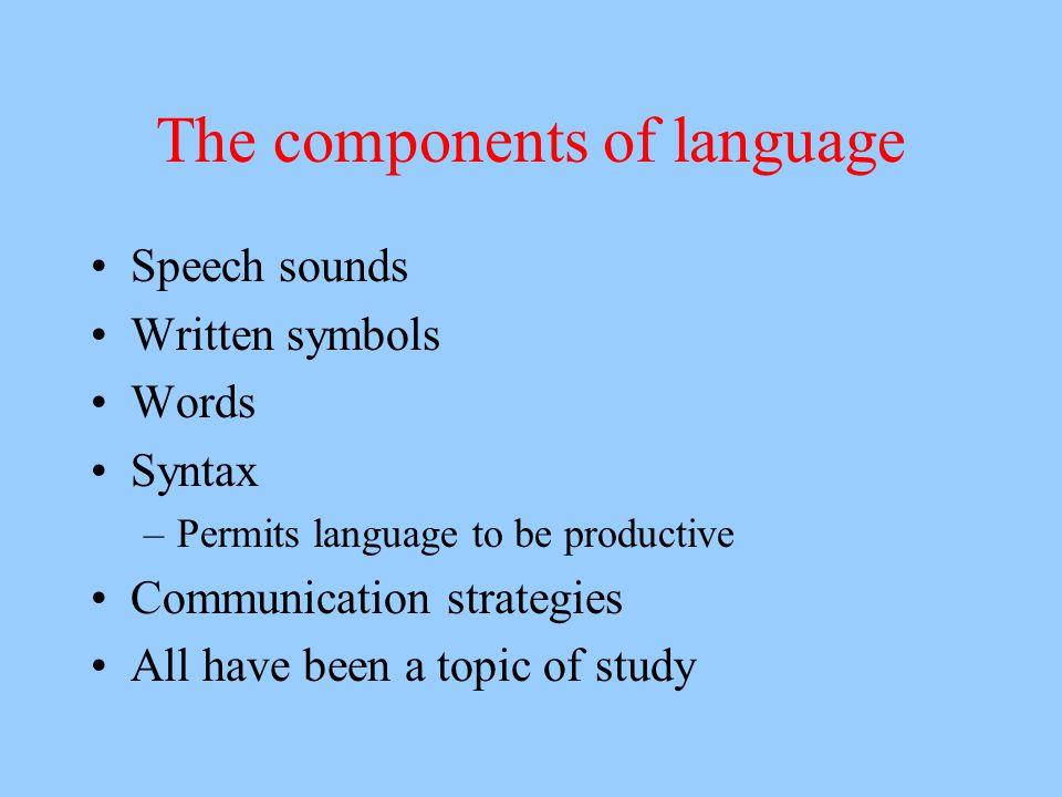 Communication Why start with communication.