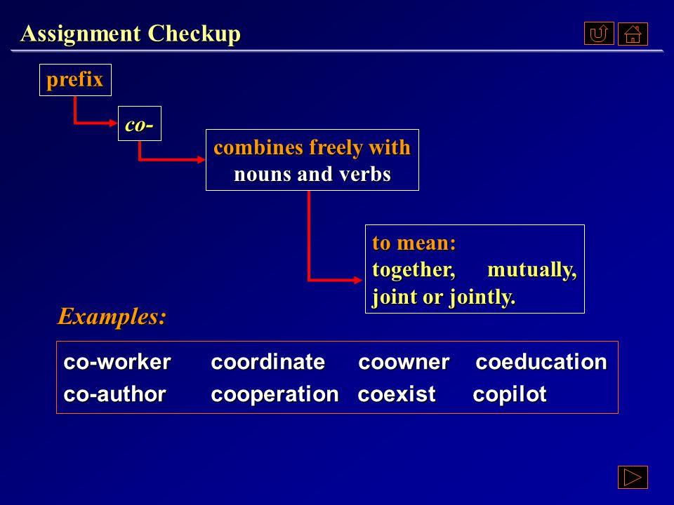 Assignment Checkup Ex. VI, p. 48 《读写教程 IV 》 : Ex. VI, p. 48