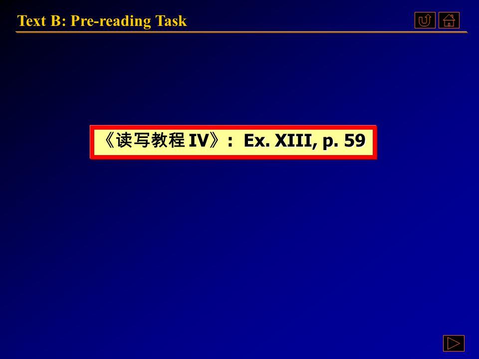 Pre-reading TaskPre-reading TaskPre-reading TaskPre-reading Task Text B: Language PointsText B: Language PointsText B: Language PointsText B: Language