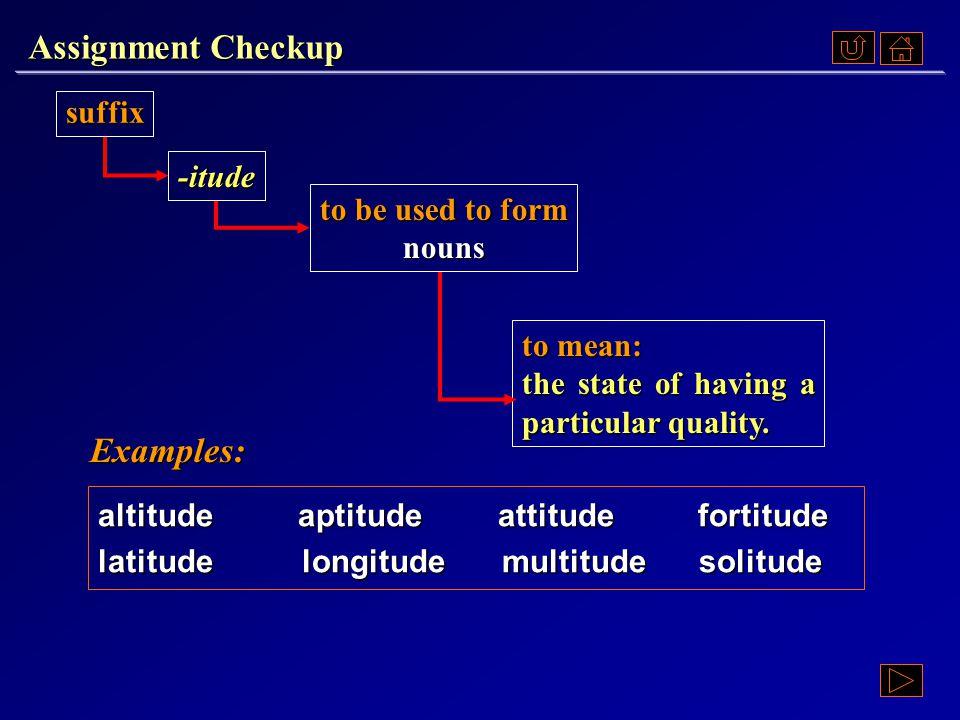 Assignment Checkup Ex. V, p. 48 《读写教程 IV 》 : Ex. V, p. 48