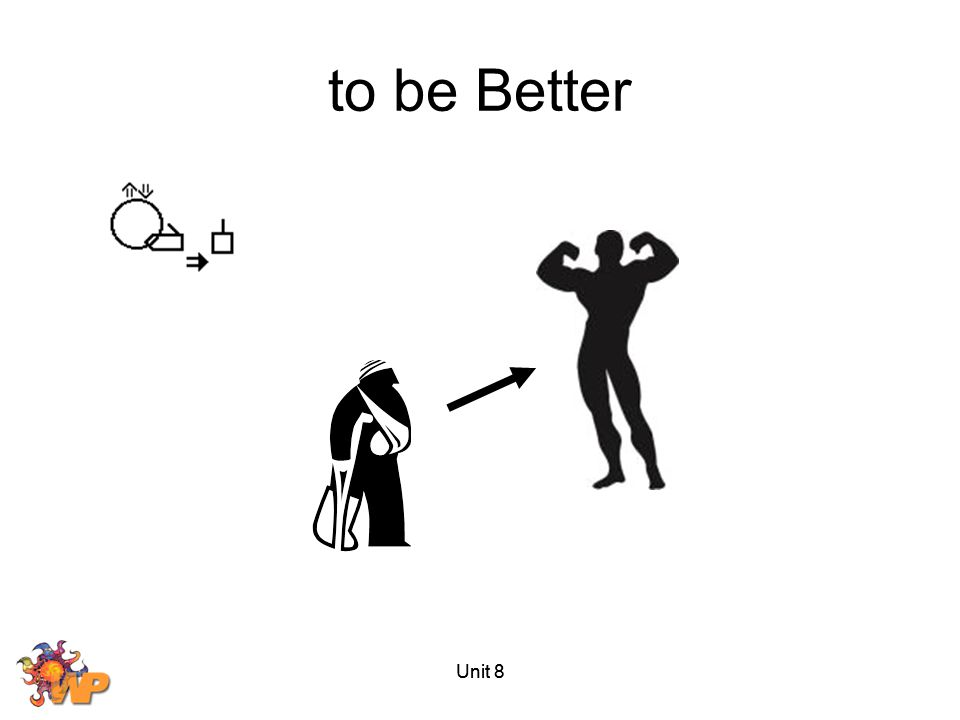 to be Better Unit 8