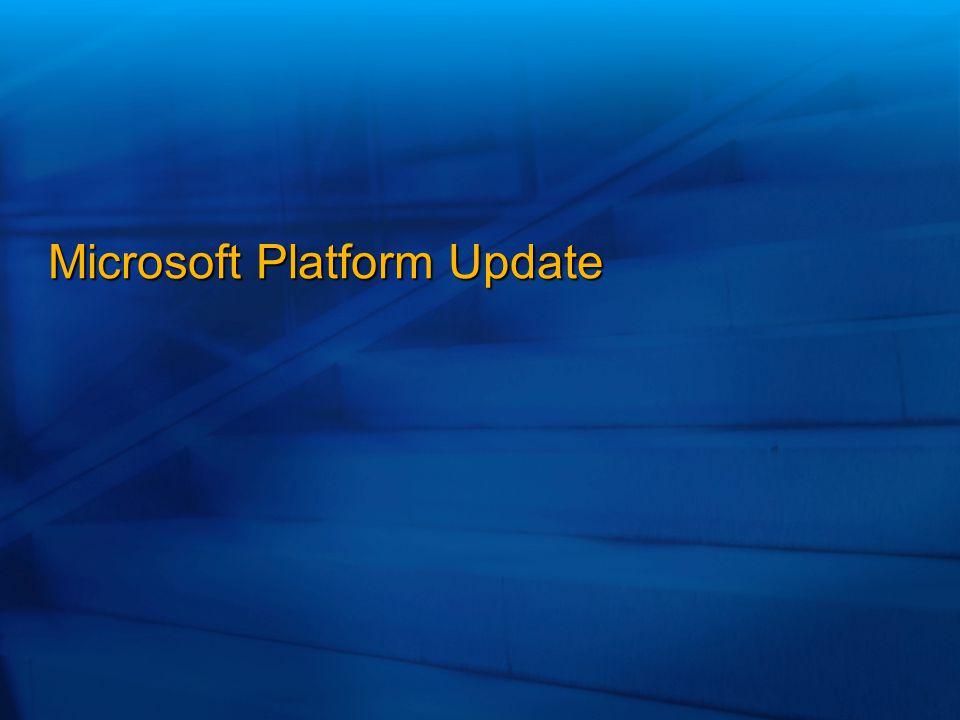 Microsoft Platform Update