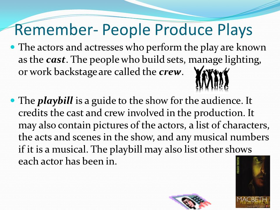 How is a play divided.A play is largely divided up into parts, or acts.