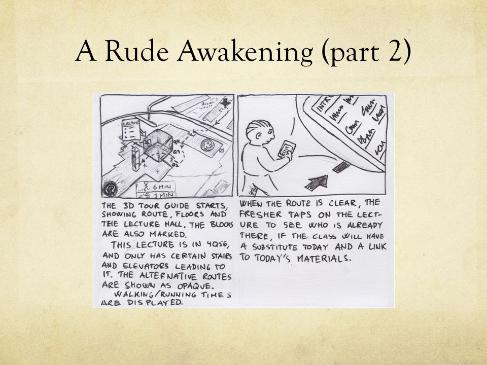 A Rude Awakening (part 2)