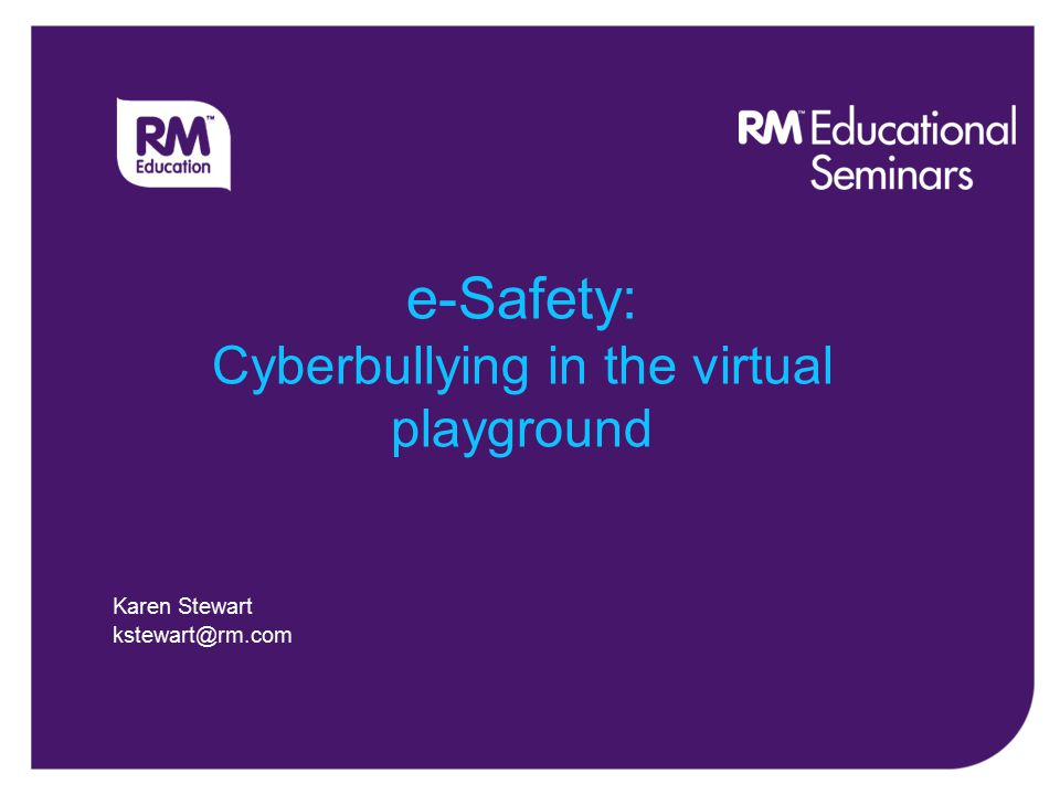 Agenda What is Cyberbullying? Cyberbullying methods Consequences Support