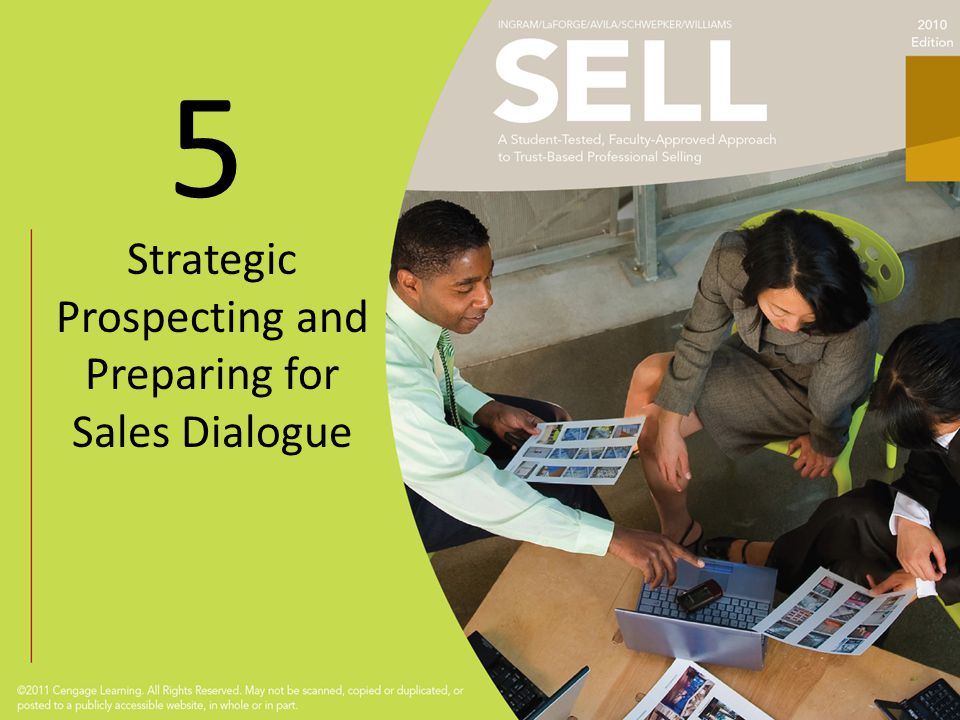 5 Strategic Prospecting and Preparing for Sales Dialogue