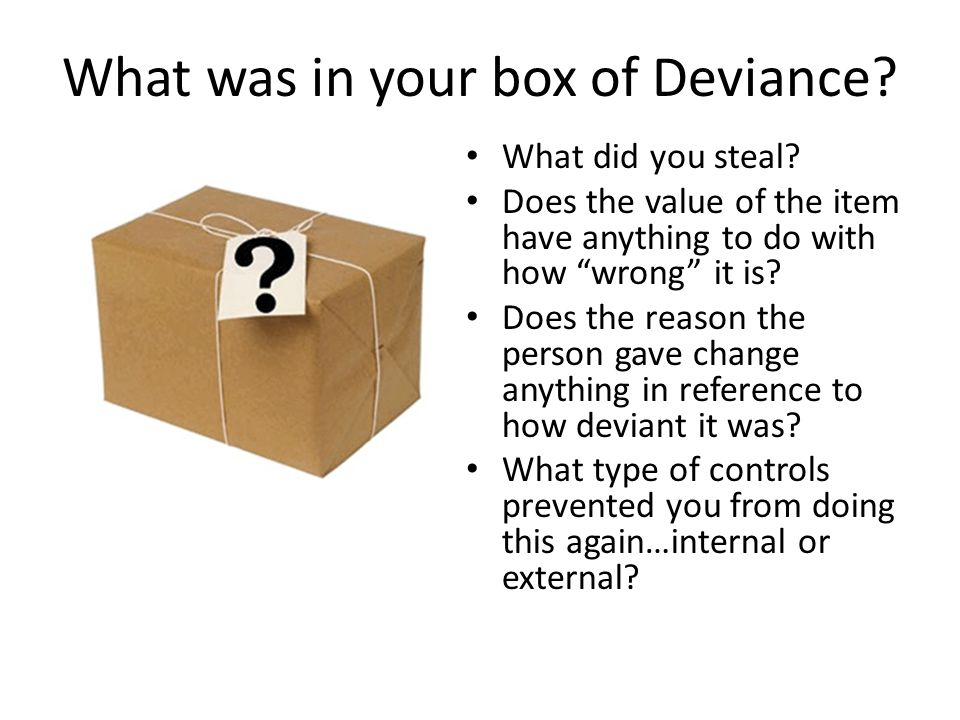 What is Deviance.
