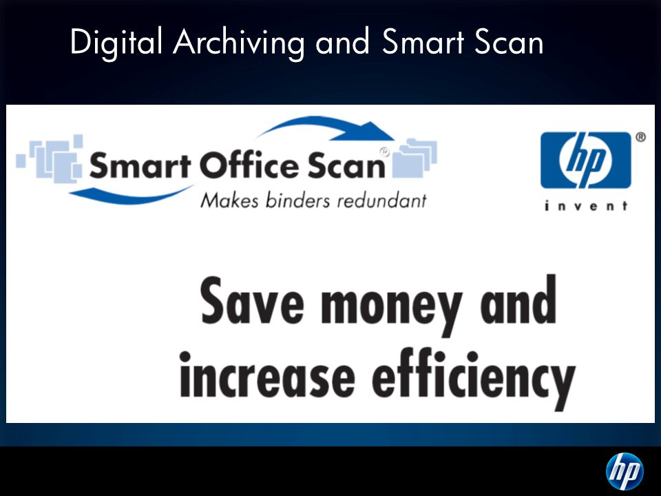 Digital Archiving and Smart Scan