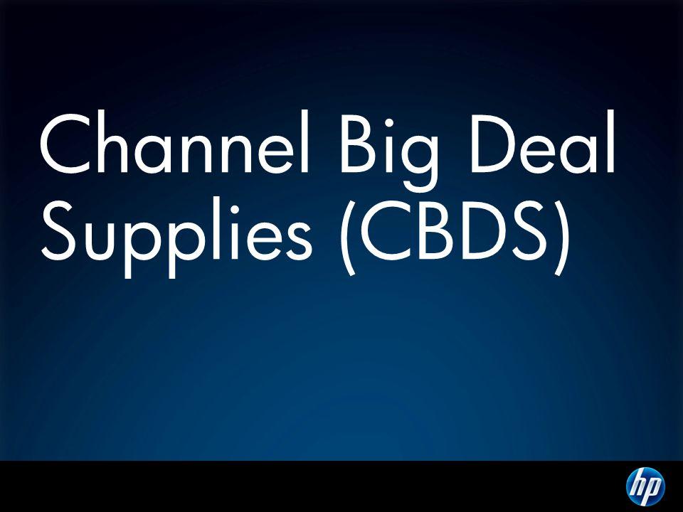Channel Big Deal Supplies (CBDS)