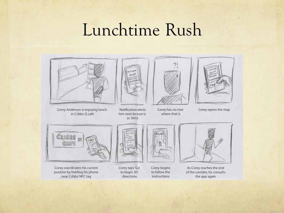 Lunchtime Rush