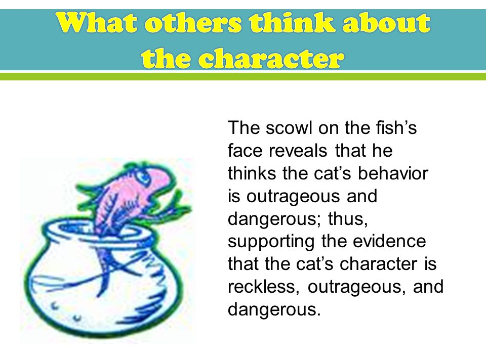 The cat engages in Up-up-up with a fish and releases 2 things that proceed to fly kites inside the house.