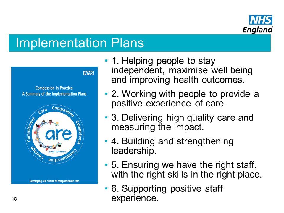Implementation Plans 18 1.