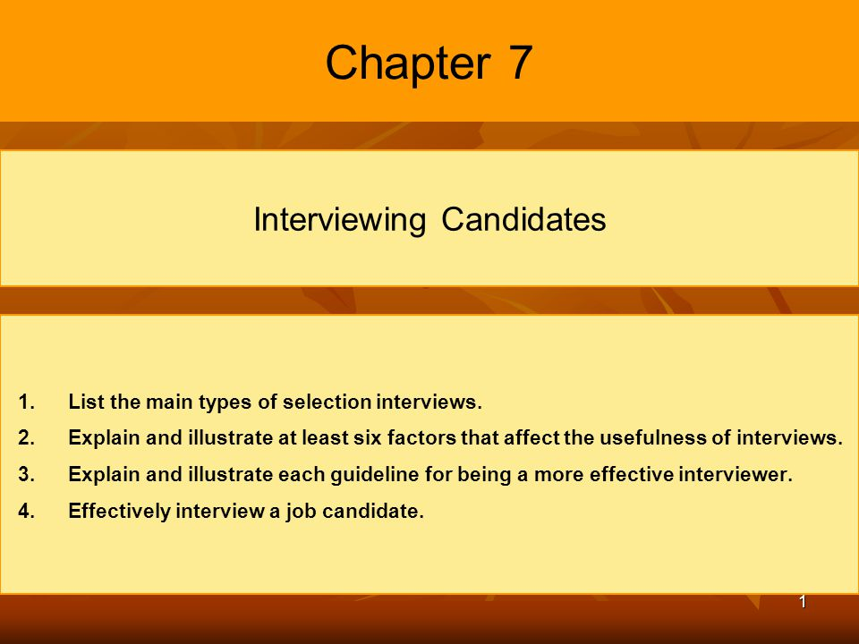 2 Basic Features of Interviews Interview A procedure designed to obtain information from a person through oral responses to oral inquiries