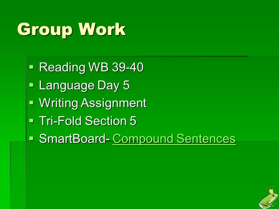 Reminder!  Commas are used in compound sentences when there are two subject-verb sets.