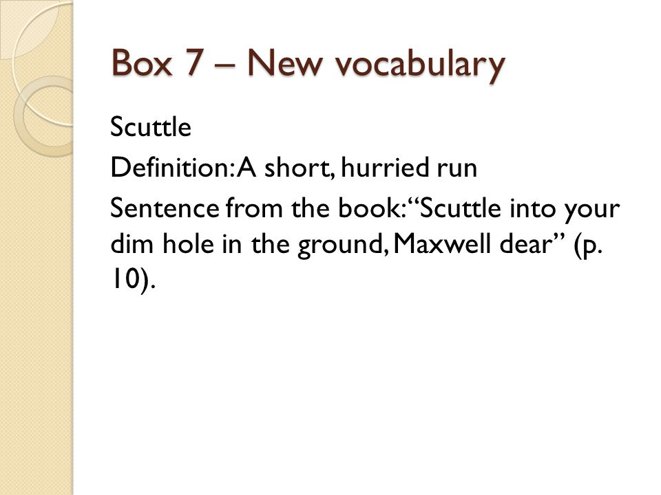 Box 18 – My Choice Description of Kevin Kevin suffers from a disease that stunts his growth and twists his body, but what he lacks in size he makes up for in intelligence.