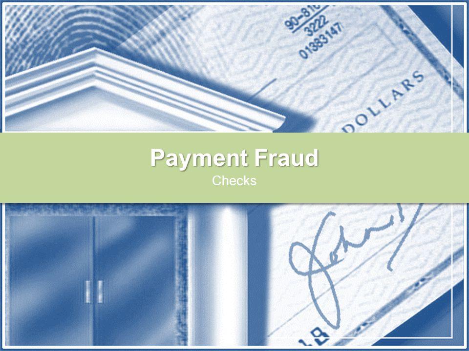 Payment Fraud Checks