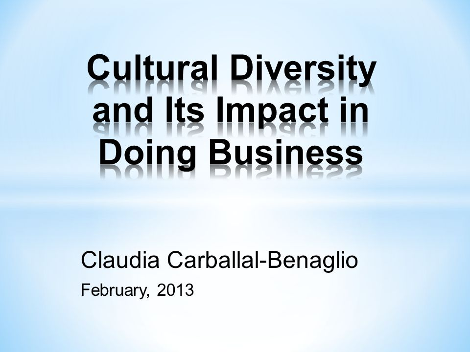 Index Introduction…………………………………6 Cultural Diversity Definition…………….....7 Cultural Rights……………………………..8 Main Aspects of Cultural Diversity…….…9 Race………………………………….10 National Origin……………………….11 Ethnic Background………………….12 Religion………………………………13