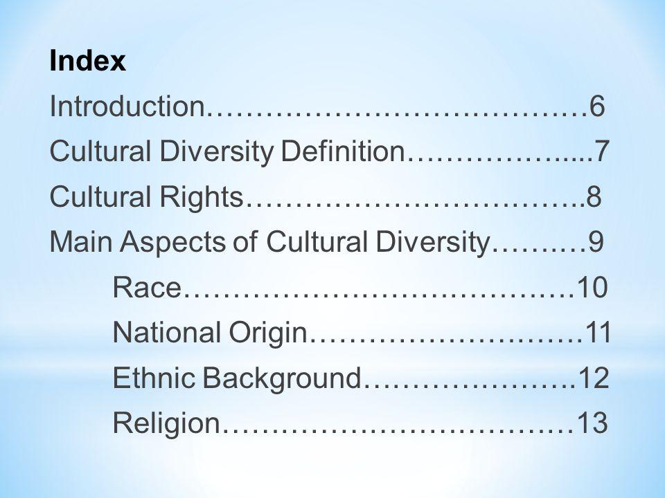 Index, Cont….