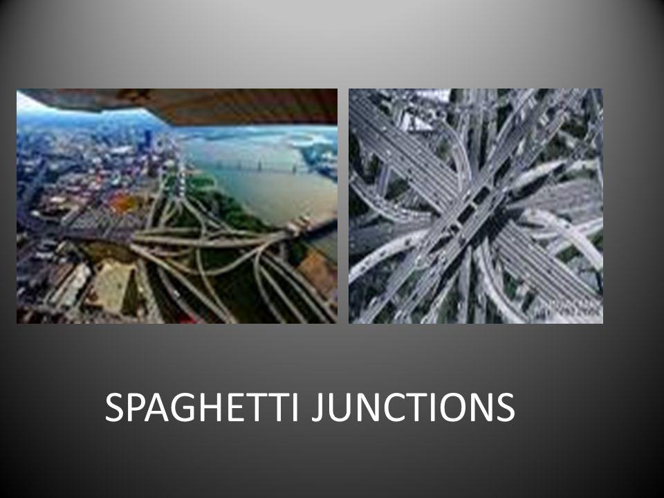 SPAGHETTI JUNCTIONS