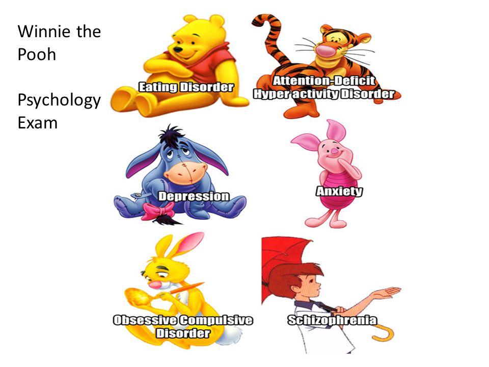 Winnie the Pooh Psychology Exam