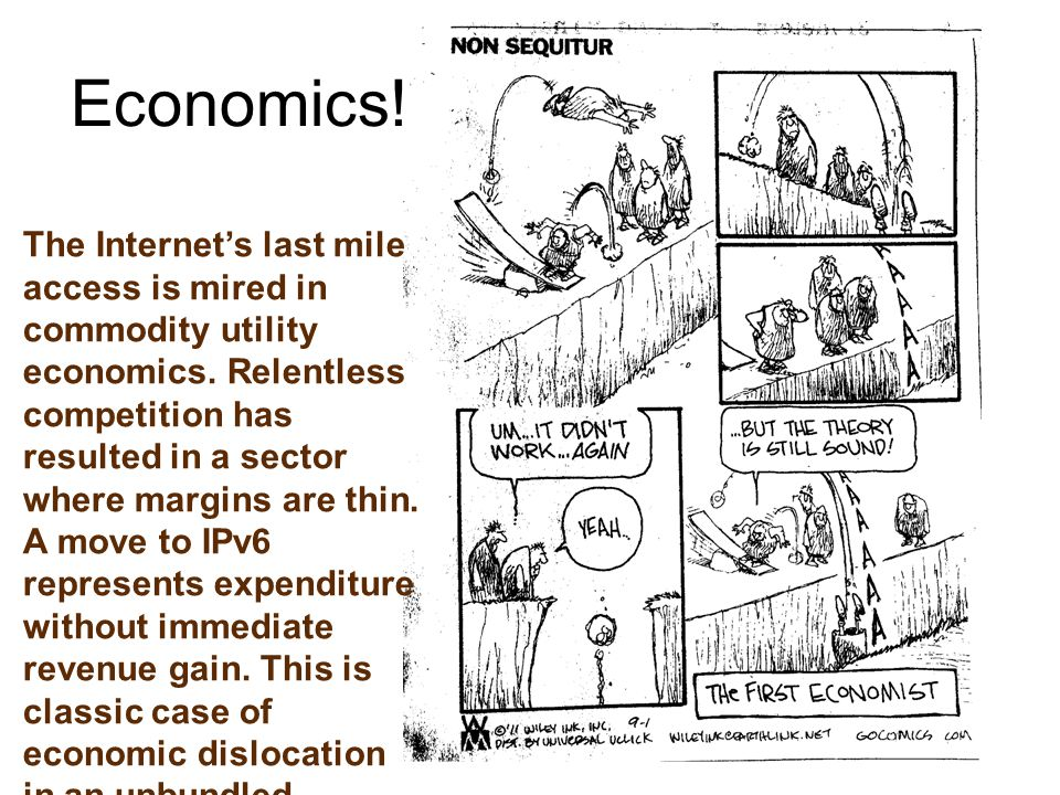 The Internet's last mile access is mired in commodity utility economics.