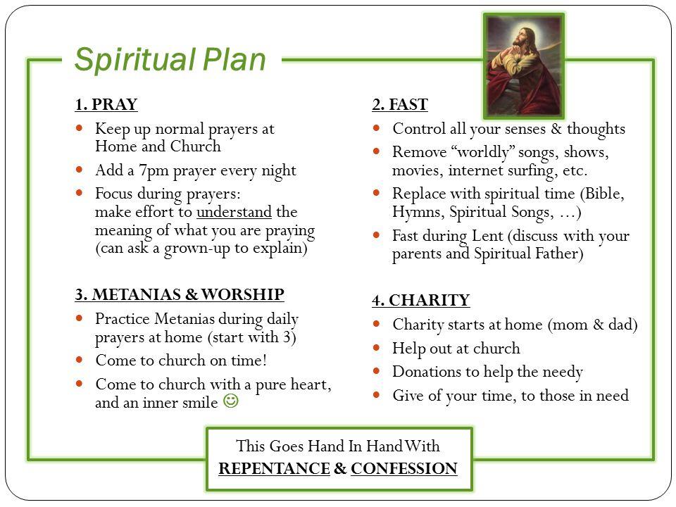 Spiritual Plan 1.