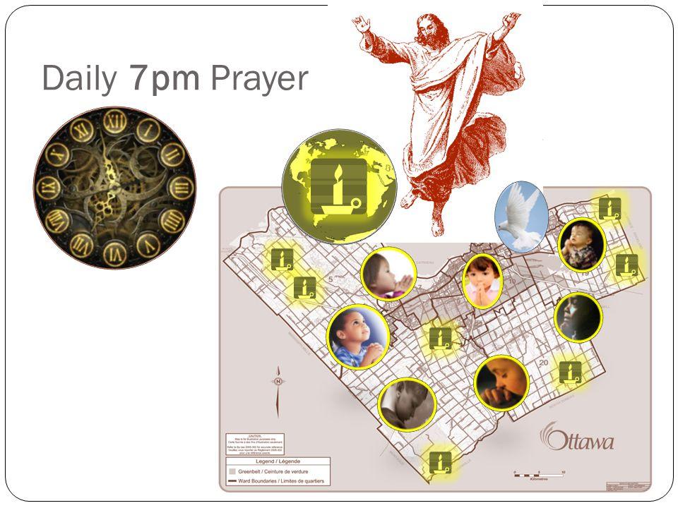 Daily 7pm Prayer