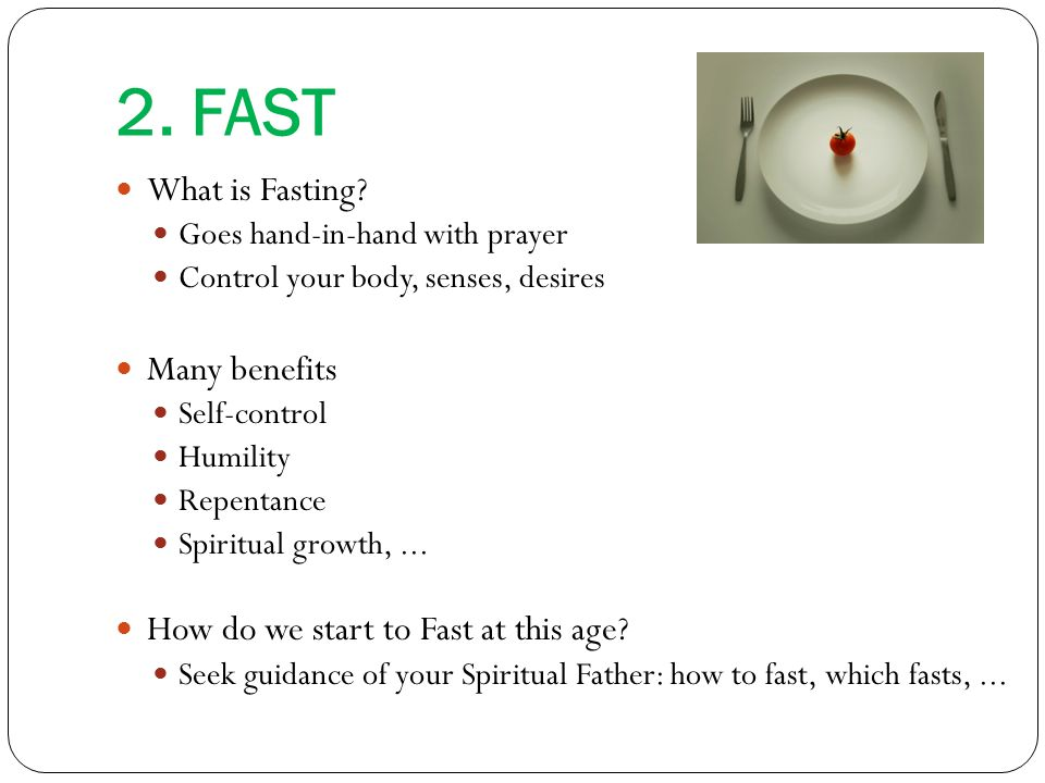 Fasting Schedule in our Coptic Church When do we Fast.